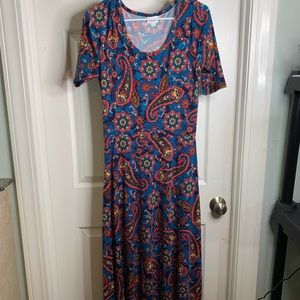 LuLaRoe Maxi Dress Size Medium